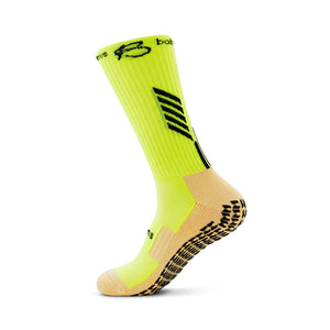 botthms Neon Yellow Grip Socks