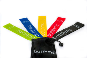 botthms Resistance Bands - Set of 5