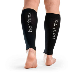 calf sleeves botthms standing