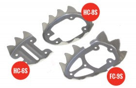 Stainless steel crampons