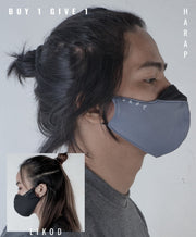 Baybayin Face Mask - Abo by Legazy™ right side