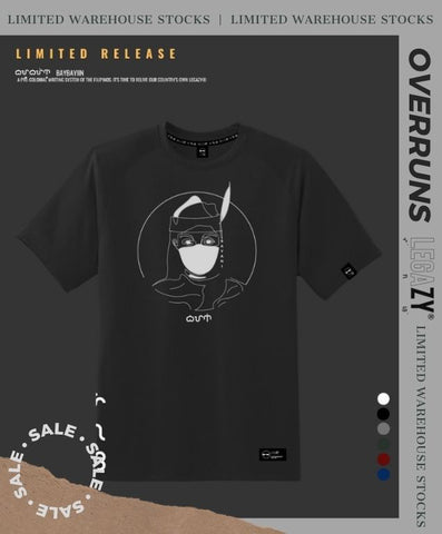 OVERRUNS | BAYANI | LIMITED EDITION BAYBAYIN GRAPHIC SHIRTS