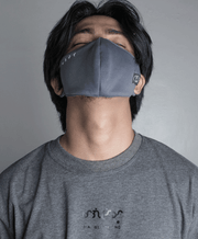 Baybayin Facemask ABO by LEGAZY when worn men front