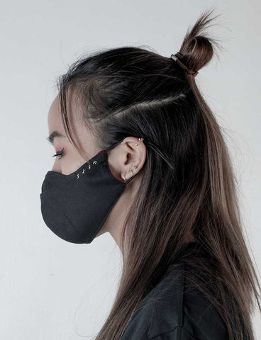 Baybayin Face Mask - Abo by Legazy™ left side reversed