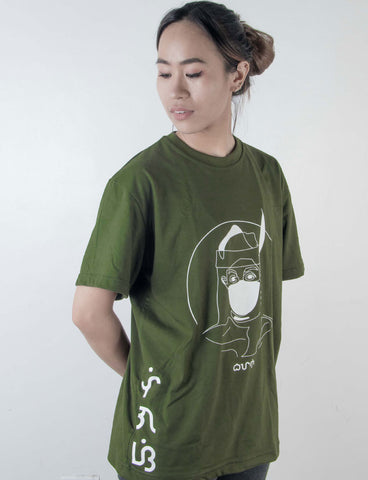 Bayani baybayin graphic shirt by Legazy™ lunti side design