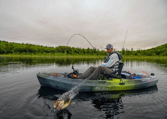 Good Gear: Old Town Topwater PDL Fishing Kayak