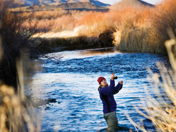 Lower Owens River - Fishing