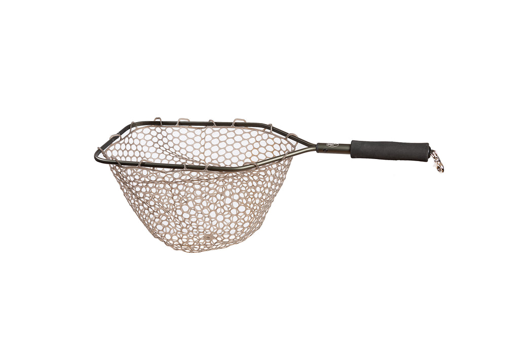 Aluminum Catch and Release Net with Camo Ghost Netting 15""