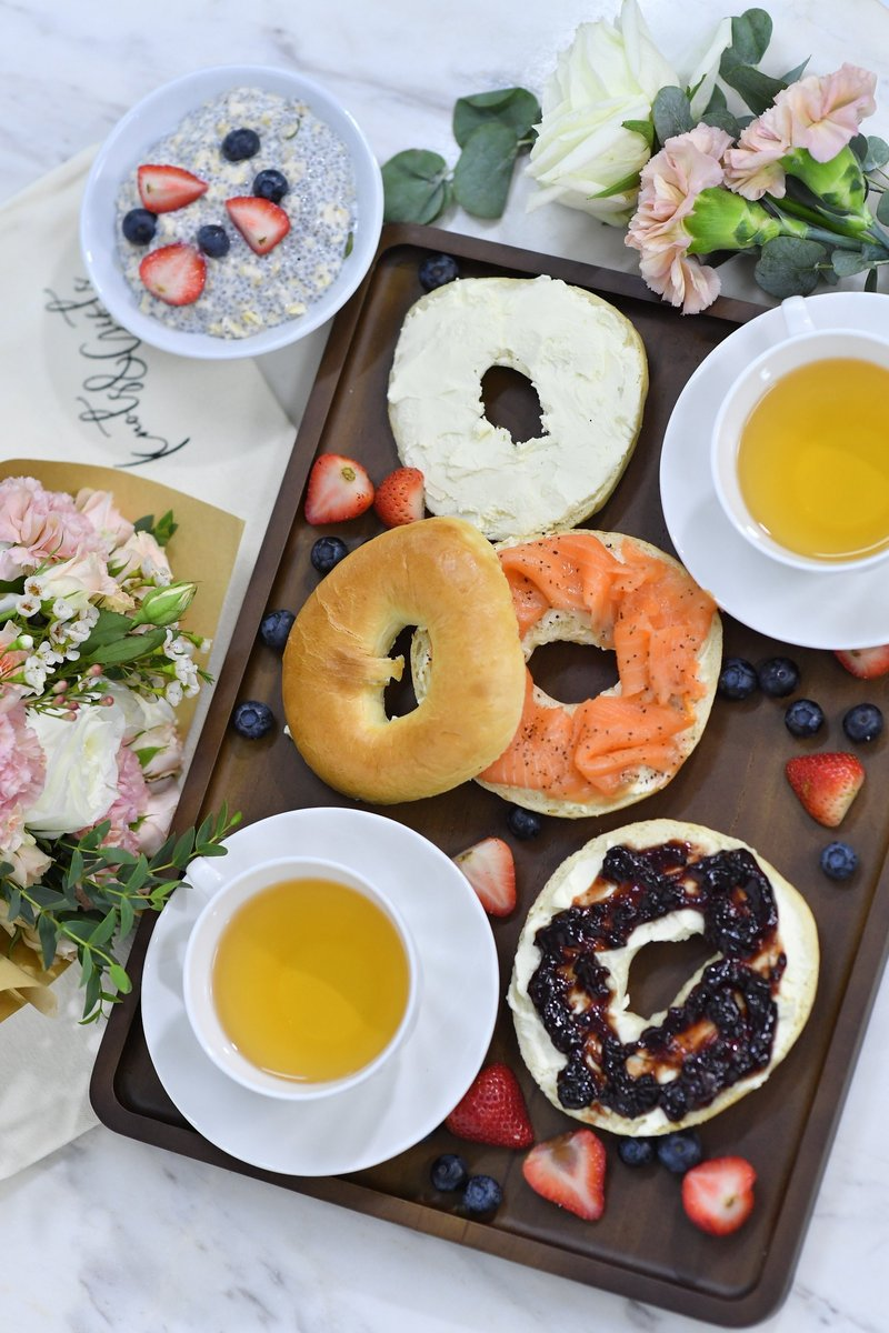 Rock Your Tea Party with Bagels and Donuts!