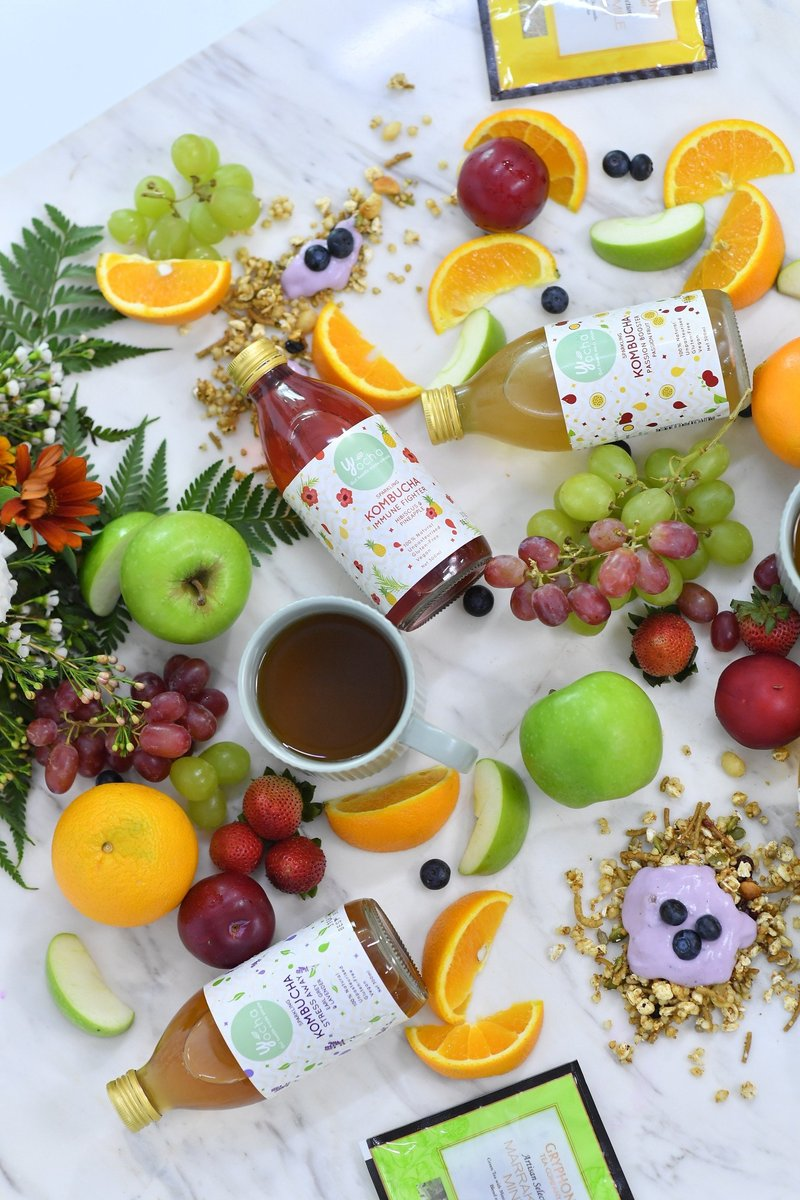 Fresh And Healthy Bundles - Collection Of Thoughtful Gifts
