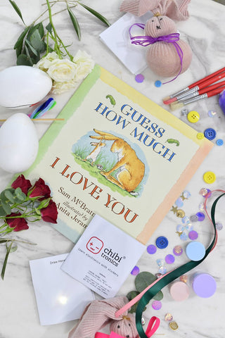 How Much I Love You activity set