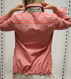Marc Cain Stripe Blouse