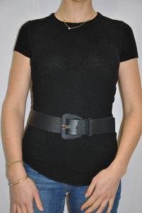 Suzi Belt Navy Belt