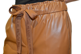Cambio Vegan Leather Cropped Pants