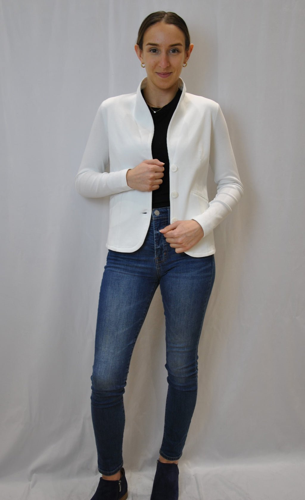 Blooming Jersey Blazer (Multiple Colours Available)