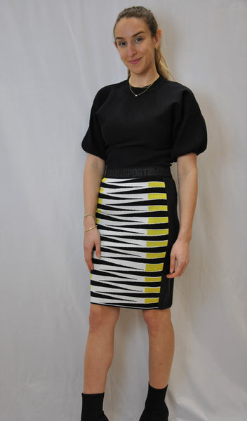 Marc Cain Stripped Sports Skirt