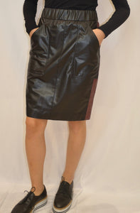 Marc Cain Faux Leather Skirt