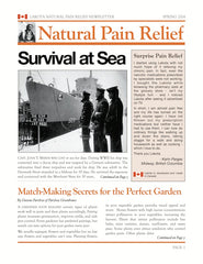 Natural Pain Relief Newsletter
