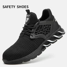 Load image into Gallery viewer, Men's Anti-Smashing Puncture Safety Shoes