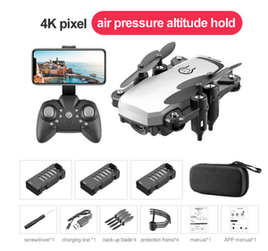 4K HD aerial folding aircraft 360 degree rotation