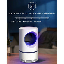 Load image into Gallery viewer, Low-voltage Ultraviolet Light USB Mosquito Killer Lamp Safe Energy Power Saving Efficient Photocatalytic Anti Mosquito Light