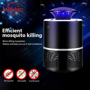 Catalytic silent radiation-free mosquito killer
