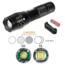 Load image into Gallery viewer, 【Buy 1 Get 1 Free】 LED Flashlight TACTLIGHT W/ RECHARGEABLE BATTERY AND CHARGER