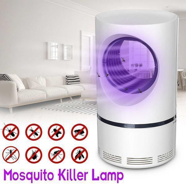 Healthy noise-free and odor-free mosquito killer lamp