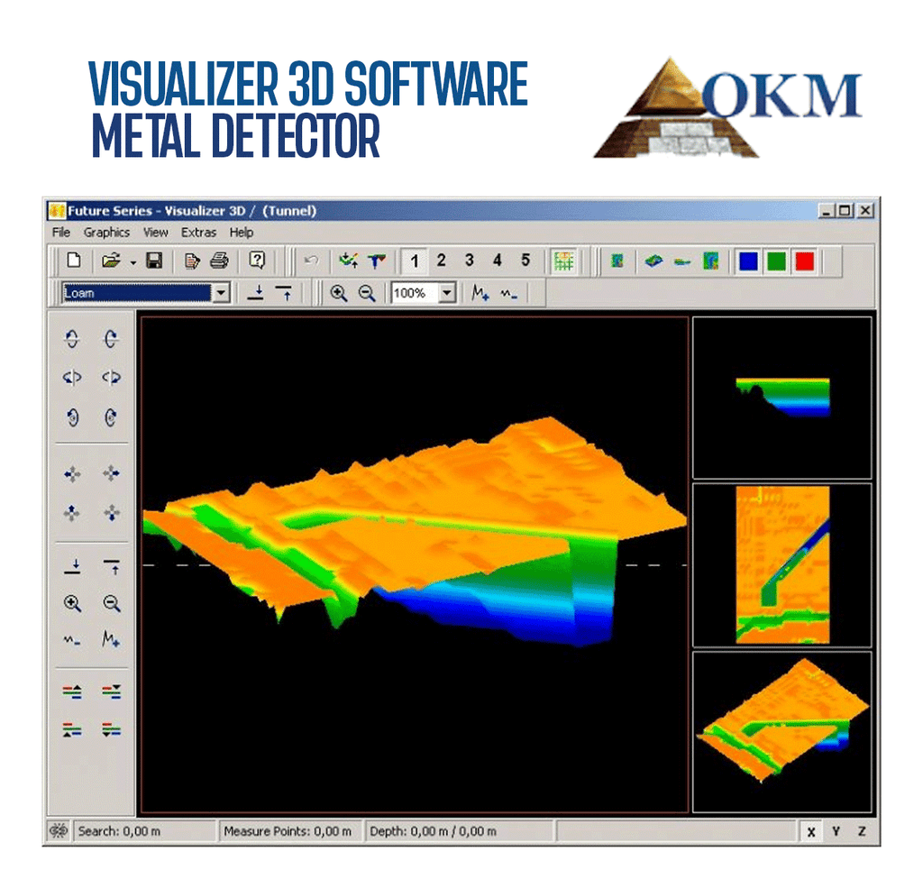 Visualizer 3D Software OKM