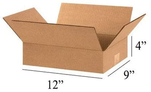 "100 x Mail Small Parcel Size Mailing Cartons/Boxes, 12"" x 9"" x 4"" Inches"
