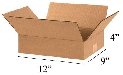100 x Mail Small Parcel Size Mailing Cartons/Boxes, 12