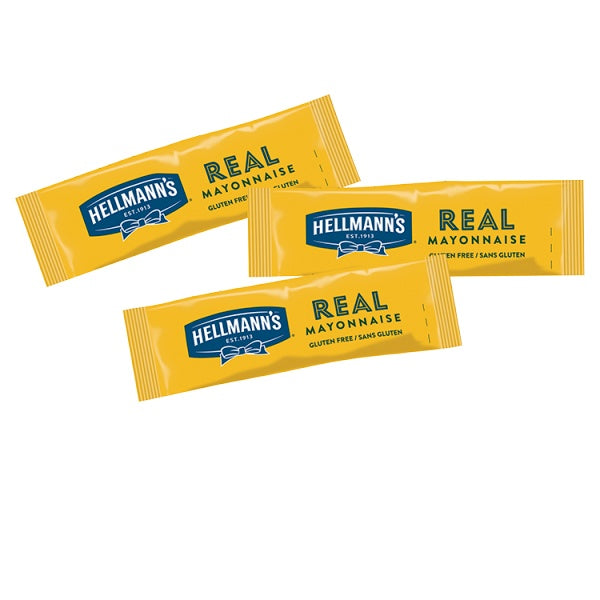 Hellmann's Real Mayonnaise 198 x 10ml Portions