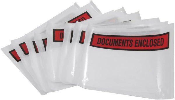 Triplast 225 x 165 mm Printed A5 Document Enclosed Envelope Wallets (Pack of 100)