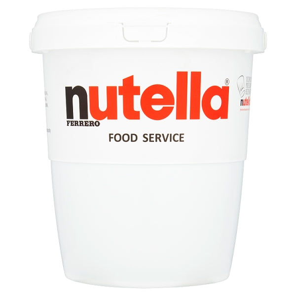 Nutella Hazelnut and Chocolate Spread Food Service Tub 3kg