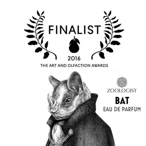 The Art & Olfaction Awards Announces Zoologist Bat a Finalist