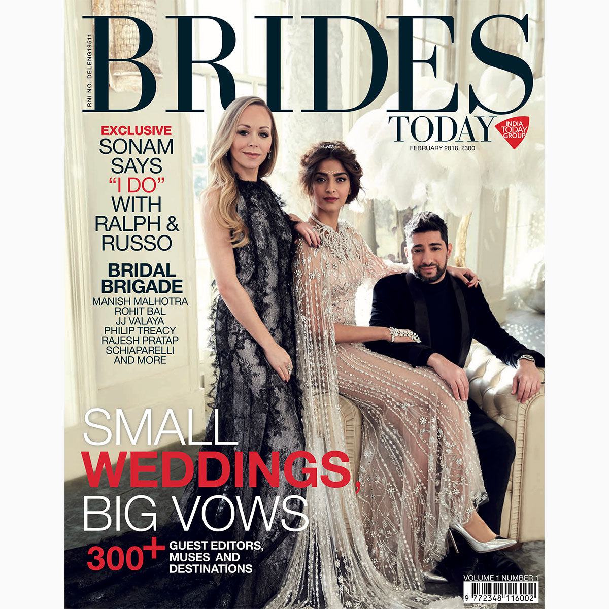 Print Press: Brides Today, 2018 February, Scents & Gender Boundaries
