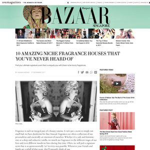 Print Press: Harper's Bazaar Singapore, Dec 27, 2017
