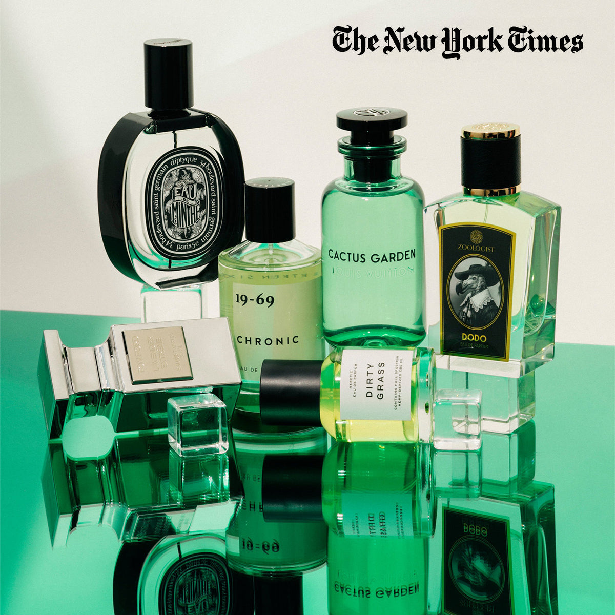 "Print Press: New York Times, 18/6/2019 – ""I Never Promised You an Herb Garden: 6 Green Scents for Summer"""