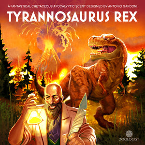 An Interview with Antonio Gardoni, the Perfumer of Zoologist Tyrannosaurus Rex