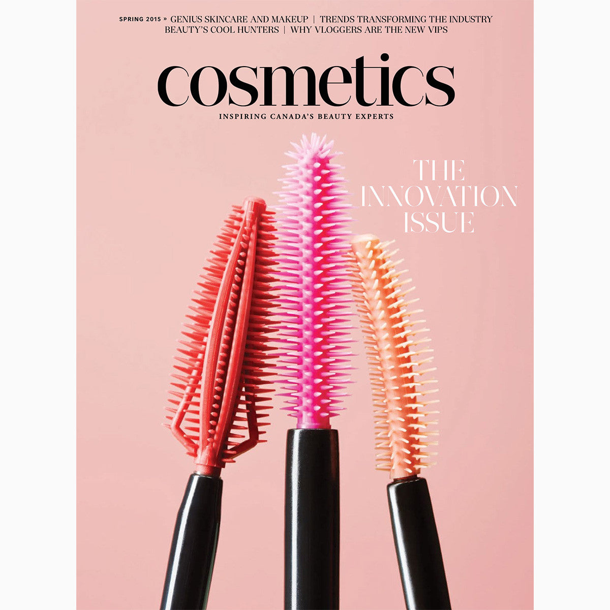 Print Press: Cosmetics Magazine (Spring 2015, The Innovation Issue)