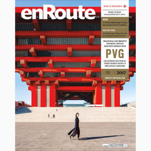 Print Press: enRoute Air Canada, 2017 April