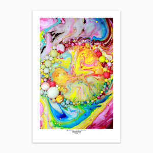 Zoologist Chameleon Three Art Prints by Seb Duke