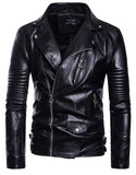 men's sportswear motorcycle leather men's leather jacket jacket