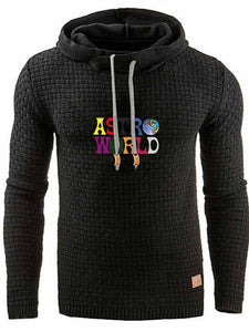 Letter Pullover Print Pullover Loose Hoodies