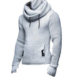 Mens Winter Hooded Pullover Plus Size Knitting Hoodies