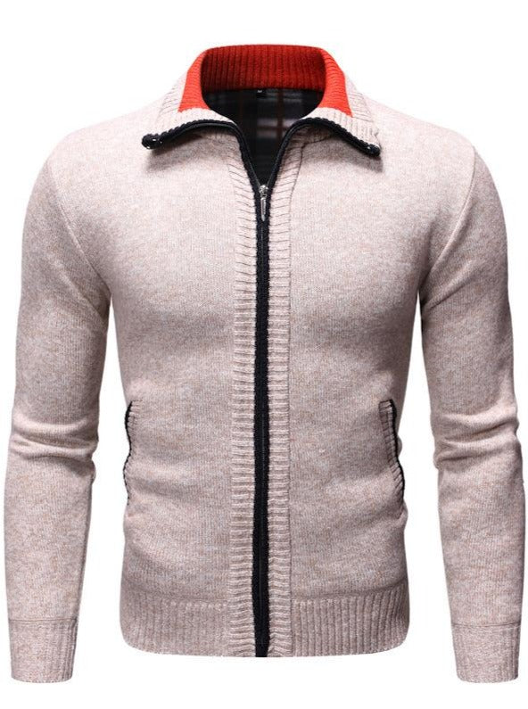 Men's T-shirt plush sweater
