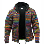 Fashionable Men's Tie Dye Hoodie Jacket