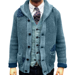 Men's solid casual coat