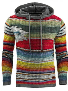 Gradient Pullover Straight Winter Hoodies