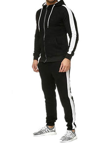 Jacket Patchwork Sports Outfit